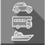 Auto - Boot - Wohnwagen